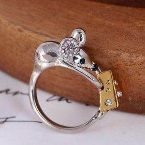 Kate Spade Mouse & Cheese Ring